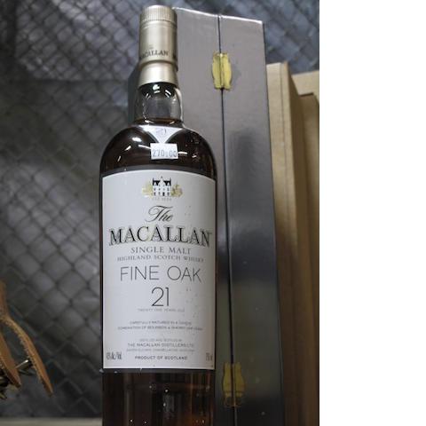 Macallan-21 year old