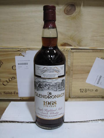 Glendronach- 25 year old-1968