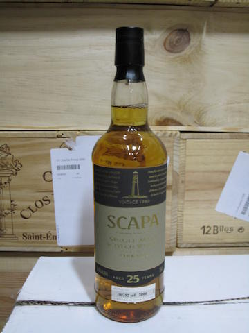 Scapa- 25 year old-1980