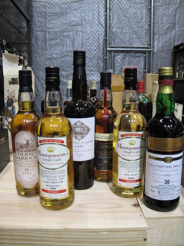 Compass Box (1)Benrinnes-14 year old-1989 (1)Macallan-13 year old-1989 (1)Speymalt from Macallan-1993 (1)Director's 'Tactical' Selection-20 year old-1982 (1)Glen Garioch-24 year old-1979 (1)