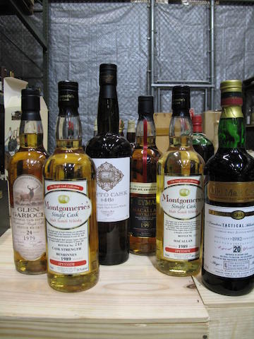 Compass Box (1)   Benrinnes- 14 year old-1989 (1)   Macallan- 13 year old-1989 (1)   Speymalt from Macallan- 1993 (1)   Director's 'Tactical' Selection- 20 year old-1982 (1)   Glen Garioch- 24 year old-1979 (1)