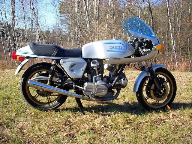 1982 Ducati 900SS Frame no. DM860SS091109 Engine no. 92908