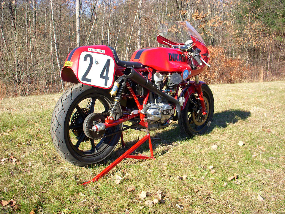 The ex-Tony Guest, Daytona BOTT Amateur Modified-winning,1974 Ducati 750SS Race Bike Frame no. DM750SS•075348 Engine no. 075064