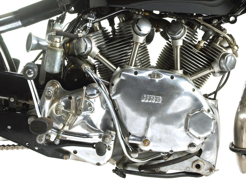 1948 Vincent-HRD  998cc Rapide Series B Frame no. R3086 Engine no. F10AB/1/1096