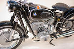1963 BMW 594cc R60/2 Frame no. 624346 Engine no. 624346
