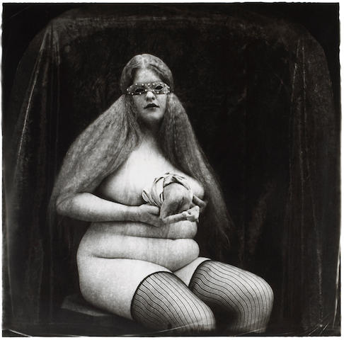 Joel-Peter Witkin (American, born 1939); Woman with Appendage, New Mexico;