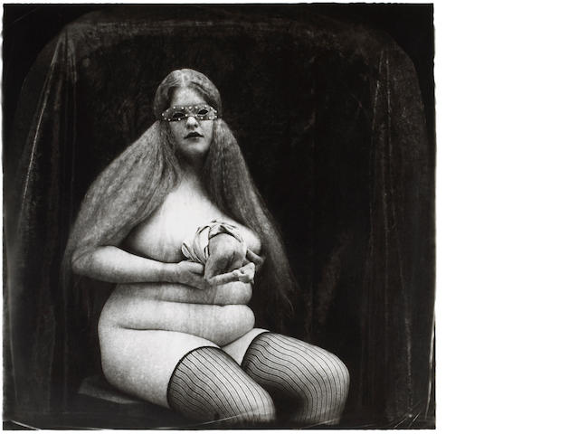 Joel-Peter Witkin (American, born 1939); Woman with appendage;