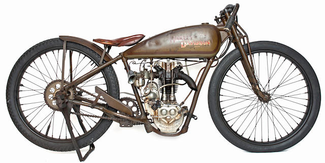 Fast Is Fast Pea Shooter Harleys: Bonhams : Ex-factory Race Bike, Documented History From