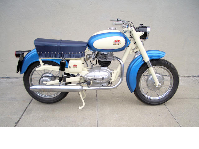 1958 Mondial 200 Comfort Frame no. 15067 Engine no. 15067