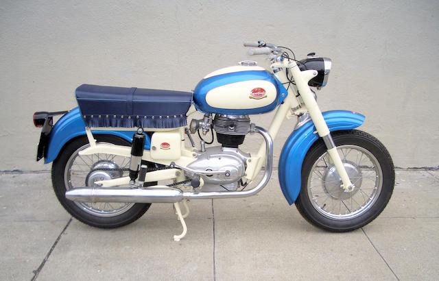 1958 Mondial 200 Comfort Frame no. 15067 Engine no. 15067
