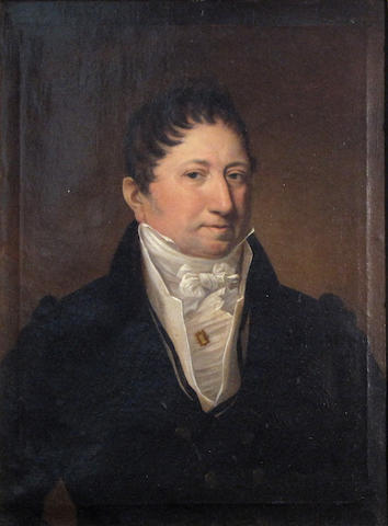 Scottish School, Portrait of a gentleman, o/c