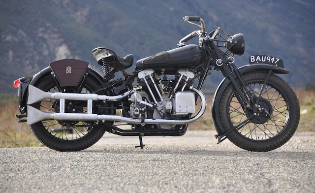 Best of the middleweight Broughs,1935 Brough Superior Black Alpine 680 Frame no. 1455 Engine no. GTO/R 43898/S