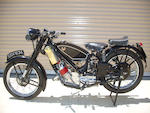 1947 Scott 596cc Flying Squirrel Frame no. 472 Engine no. DPZ4203