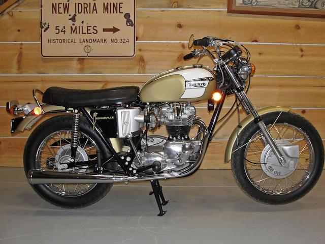 1972 Triumph 649cc T120R Bonneville Frame no. JG31665T120R Engine no. JG31665