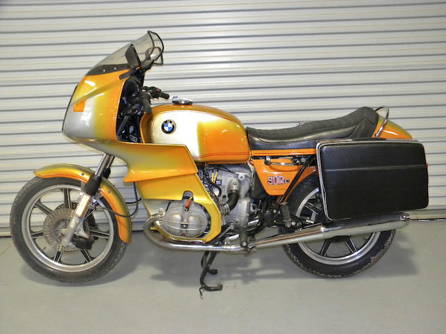 Bonhams 1976 Bmw R90s Frame No 4990955 Engine No 4990955