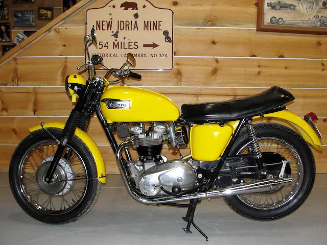 1970 Triumph Bonneville Frame no. T120RCD43264 Engine no. T120RCD43264