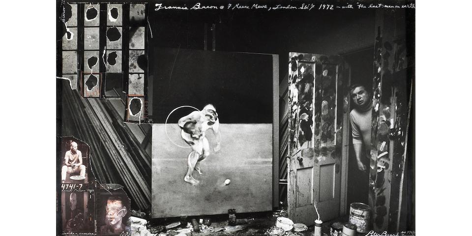 Peter Beard (American, born 1938); Francis Bacon, 7 Reece Mews, London SW7;