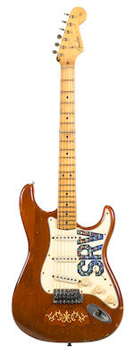 A Fender Custom Shop Tribute Series Stevie Ray Vaughan 'Lenny' Stratocaster Replica,  2007,  Serial No. MK482,