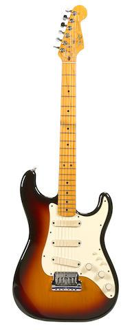 A  Fender Stratocaster,  Serial No. E 324289,