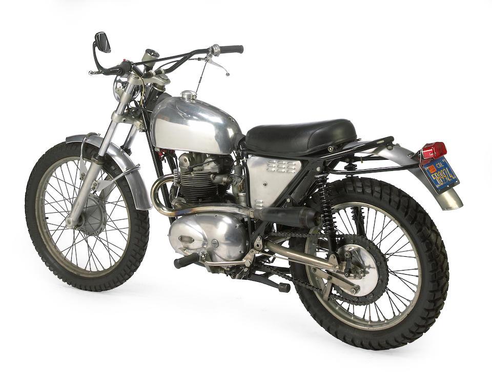 Ex-British Trophy Team,1968 Cheney-Triumph 500cc ISDT Frame no. MK2 T6 Engine no. T100SS H20991