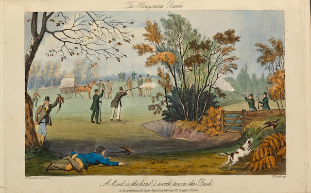 RAWSTORNE, LAWRENCE. Gamonia: Or, the art of Preserving Game; and an improved method of making Plantations and Covers. London: Rudolph Ackermann, Eclipse Sporting Gallery, 1837.