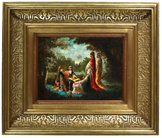 Antoine-Victor-Edmond Joinville (French, 1801-1849) Pair: Les Belles Algeriennes