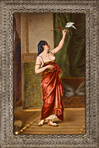 KPM Porcelain plaque