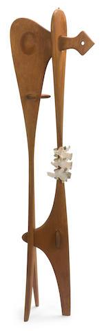 (n/a) Isamu Noguchi (American, 1904-1988) Bone Sculpture, 1945 63 3/4 x 17 3/4 x 9 3/4in (161.9 x 45.1 x 24.8cm)