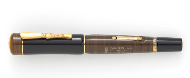 DELTA: Indios Indiginous People Fountain Pen