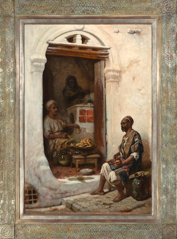 (n/a) J. Gasson (French School, 19th Century) Preparing the mumbar