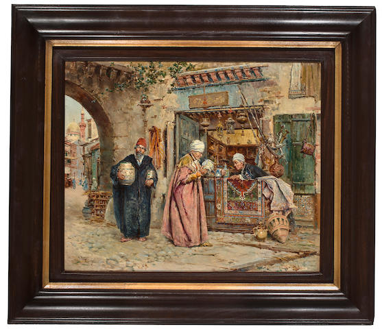 (n/a) Antonio María de Reyna Manescau (Spanish, 1859-1937) The first sale of the day