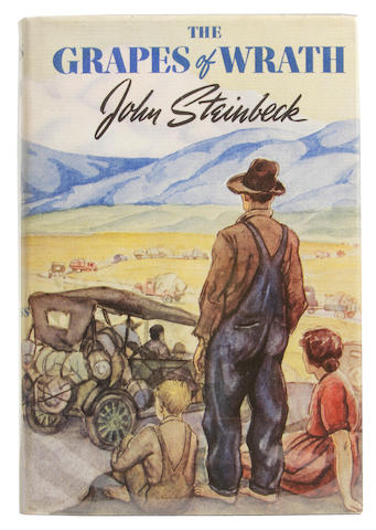 the theme of awakening of mans conscience in grapes of wrath by john steinbeck
