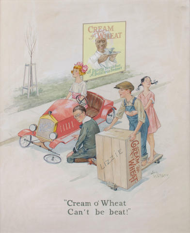 [ADVERTISING ART—CREAM OF WHEAT.]