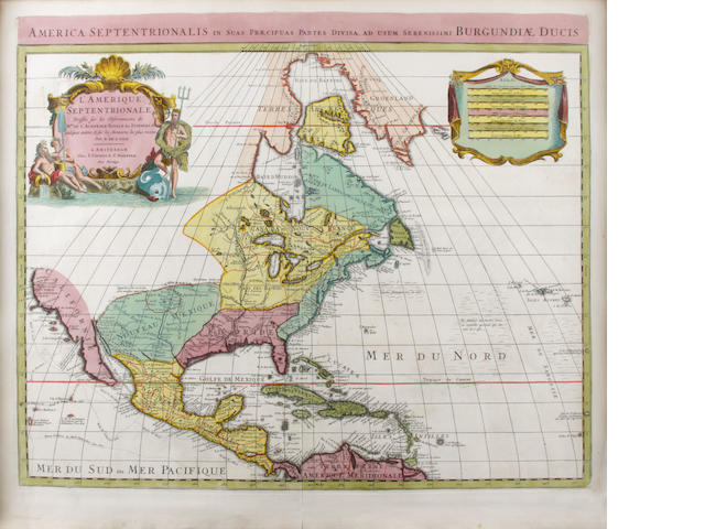 DELISLE, GUILLAUME. 1675-1726.