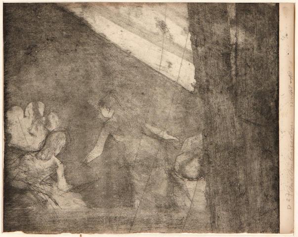 (n/a) Edgar Degas (French, 1834-1917); Aux Ambassadeurs;