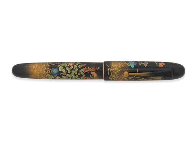 NAMIKI: Yukari Royale Fall Flowers Fountain Pen