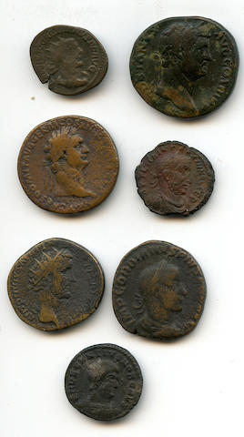 A group of Roman Imperial Bronze Coins (7)