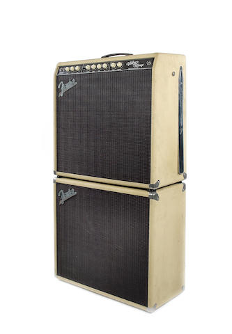 A 2001 Fender Vibro King CSR4 with extension speaker cabinet, Serial No. 2752, 2