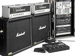 A pair of 1988 Soldano SLO-100 and a 1989 Pete Cornish Guitar Routing System with a pair of Marshall 1960B speaker cabinets Soldano SLO-100s: Serial Nos. 88043EC and 88044EC (with stickers Nos. 1 and 2 respectively), a lot