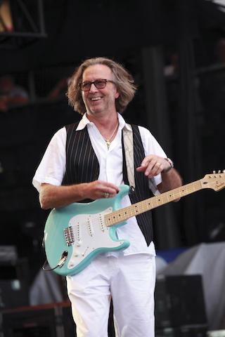 A 2008 Fender Stratocaster Eric Clapton Signature Model, Serial No. CZ512926,