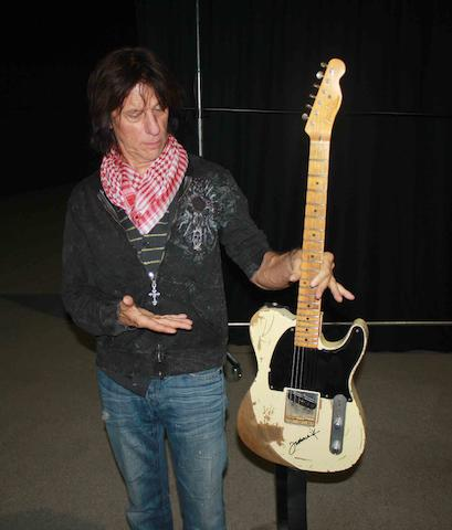 A 2006 Fender Esquire Jeff Beck Replica Model, Serial No. YS409,
