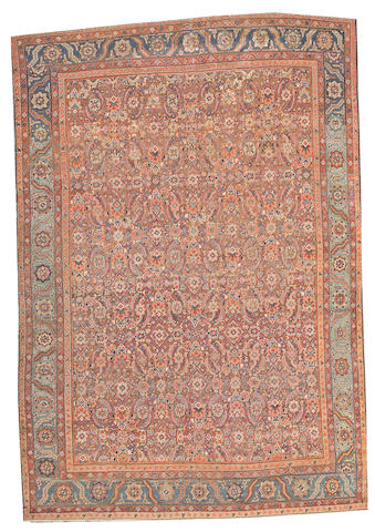 A Bakshaish carpet Northwest Persia, size approximately 7ft. 4in. x 10ft. 4in.