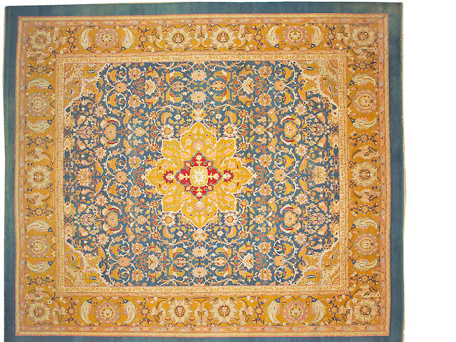An Amritsar carpet India, size approximately 14ft. 1in. x 16ft. 4in.
