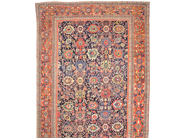 A Sultanabad carpet Central Persia, size approximately 11ft. x 26ft. 2in.