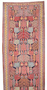 A Bakhtiari long carpet Southwest Persia, size approximately 6ft. 3in. x 21ft. 8in.