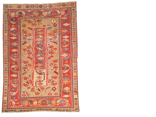 A Melas rug Anatolia, size approximately 3ft. 3in. x 4ft. 8in.
