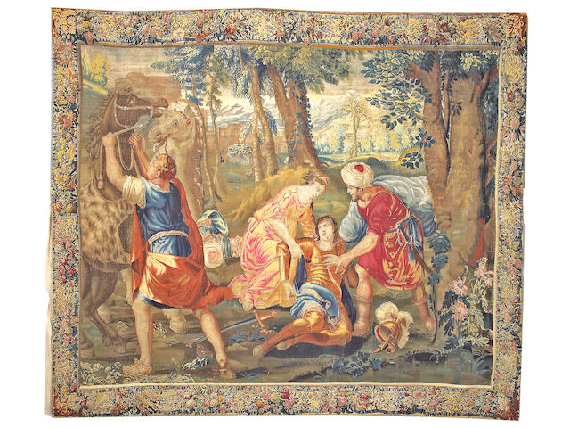 A Tapestry France size approximately 10ft. 4in. x 12ft. 2in.