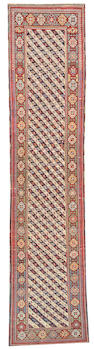 A Kuba runner Caucasus, size approximately 2ft. 11in. x 13ft. 8in.