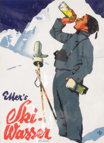 Merz (20th century); Eller's Ski-Wasser;