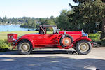 1929 Blackhawk by Stutz L-6 Two Passenger Speedster